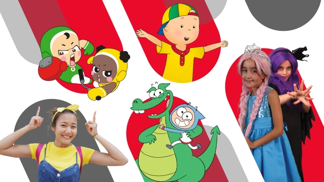 wildbrain spark animation cartoon princesses caillou